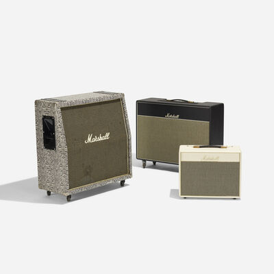 Marshall, 'Collection of Three Amplifiers', c. 1975