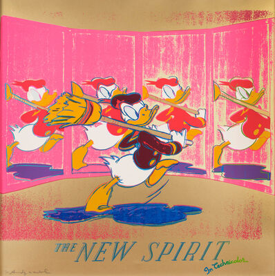 Andy Warhol, 'New Spirit (Donald Duck) II.350', 1985