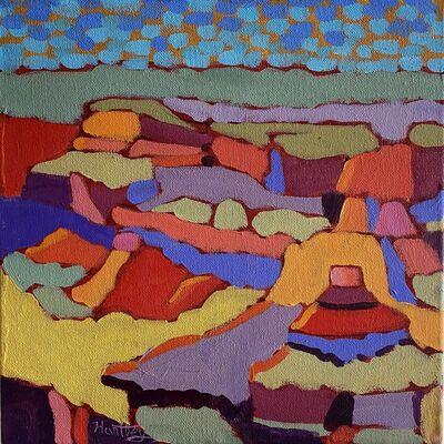"Claudia Hartley, '""Grand Canyon Color 1""', 2020"