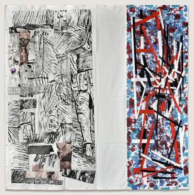 Eugenio Dittborn, 'Hilvanar Airmail Painting No. 189', 2017
