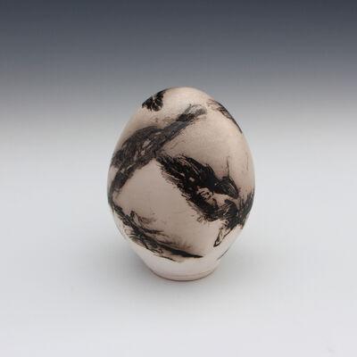 Danucha Brikshavana, 'Feather Raku Egg', 2018