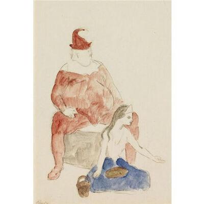 Pablo Picasso, 'Saltimbanque et jeune fille', 1905
