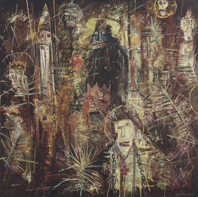 John Alexander, 'The Announcement', 1985