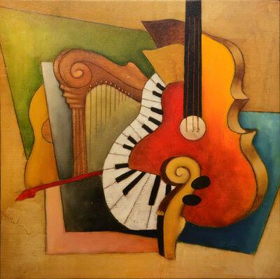 Emanuel Mattini, 'mosaic orchestration XII', 2010-2019