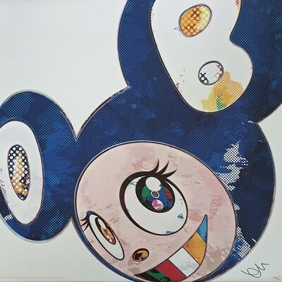 Takashi Murakami, 'And Then x 727 (Ultramarine :GUNJO)', 2013