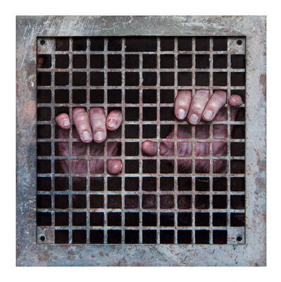 Dan Witz, 'Sanctuary Is It Safe', 2017