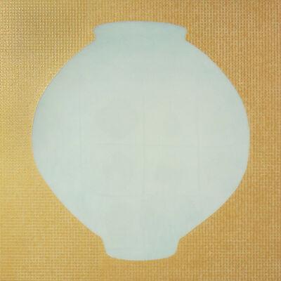 Ik-Joong Kang, 'Moon Jar with Golden Karma', 2015