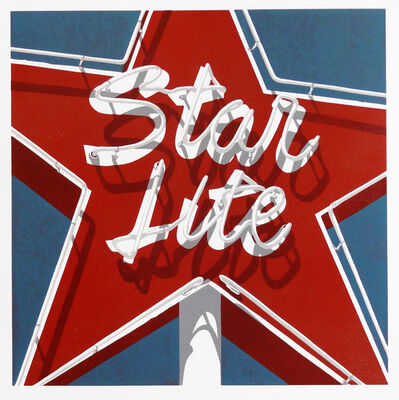 Dave Lefner, 'Starlite, Starbrite', 2017