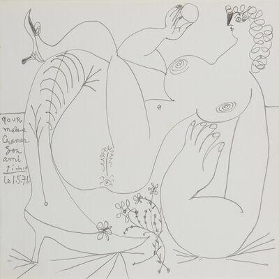 Pablo Picasso, 'Nu allongé, les jambes croisées', 1971
