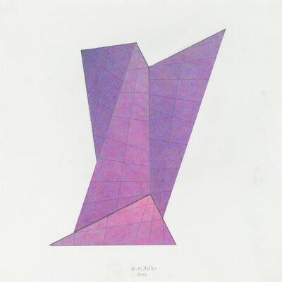 Karl Heinz Adler, 'Zerstörtes Quadrat IV', 2006