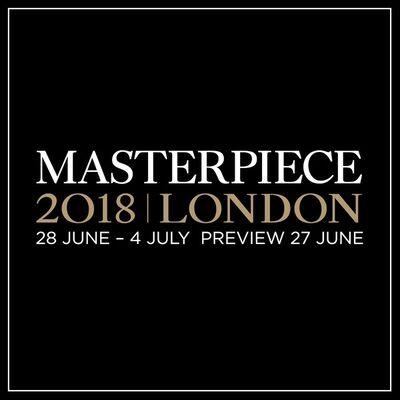 Connaught Brown at Masterpiece London 2018, installation view