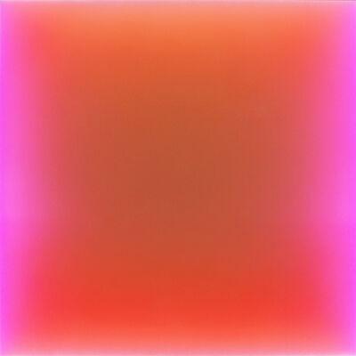 Peter Gronquist, 'Never Say Never Ever (LED lights change color on artist programed gradience) ', 2017