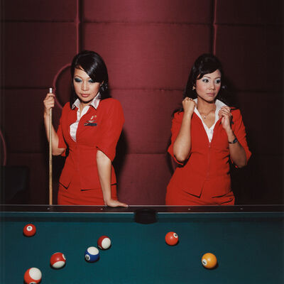 Brian Finke, 'Lily and Azriza, Air Asia', 2006