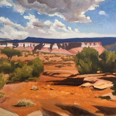 """Gary Ernest Smith, '""""Red Earth and Mesa's""""', 2019"""