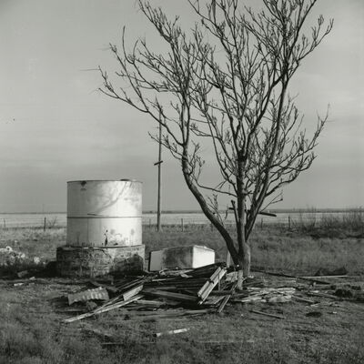 Frank Gohlke, 'Cistern for a House Destroyed by Fire, Ross Family Ranch, Jolly, Texas', 1972/2016