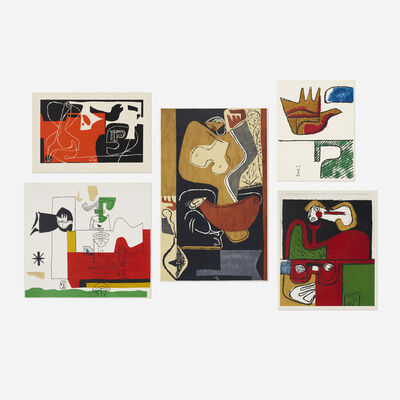 Le Corbusier, 'collection of five works', 1940-1963