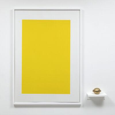 Carlos Nunes, 'objeto acrômico (limão)', 2018