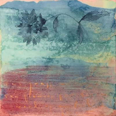 Makoto Fujimura, 'Peony – Isaiah 40:8', 2014