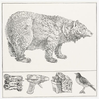 Don Nice, 'Bear with Predella ', 1976