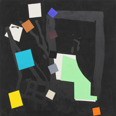 Bruce McLean, 'Shade Painting: Black', 2016