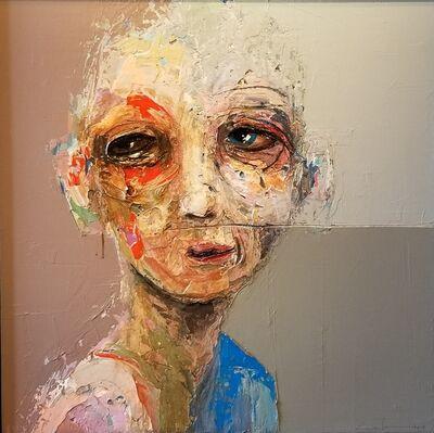 Sylvain Coulombe, 'La ligne est mince', 2019