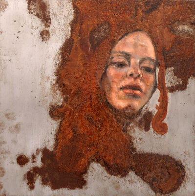 Sabatino Cersosimo, 'Experiment auf Stahl VII', 2013-2019
