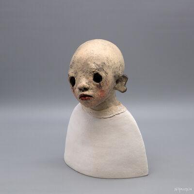 Nathalie Gauglin, 'N° 455 Petite cape et fourrure blanche', 2021