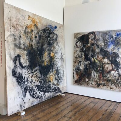 (S)ITOR at 1-54 London 2018, installation view