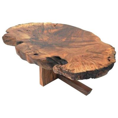 Jörg Pietschmann, 'Unique Caucasian Walnut Table, Signed', 2019