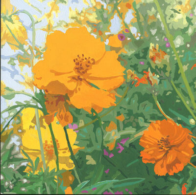 James Oliver (1972), 'Wildflower Composition (California Poppy#11)'