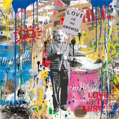 Mr. Brainwash, 'Einstein - Love Is The Answer', 2018