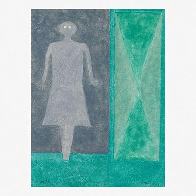 Rufino Tamayo, 'Muger Azul', 1978