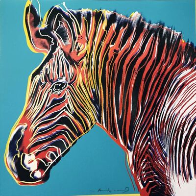 Andy Warhol, 'Endangered Species: Grevy's Zebra II.300', 1983