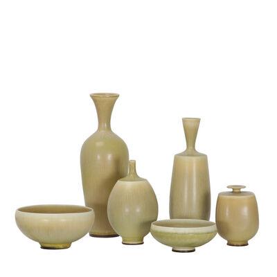 Berndt Friberg, 'Six pieces of ceramic', 1973-1976