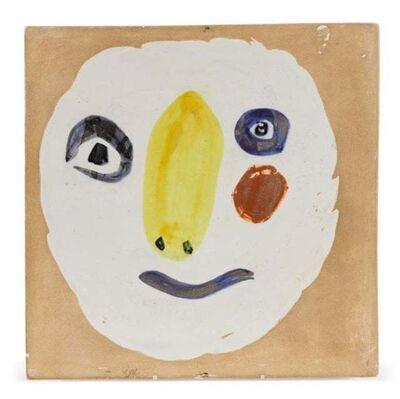 Pablo Picasso, 'Madoura Ceramic Plaque - 'Tête polychrome'  Ramié 455', 1970-1979