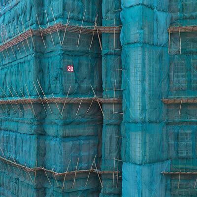 Peter Steinhauer, 'Teal Cocoon, Hong Kong - 2011', 2011