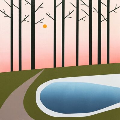 Mike Gough, 'Our Path Near The Lake', 2021