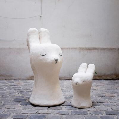 Clémentine de Chabaneix, 'Bunny stools', 2018