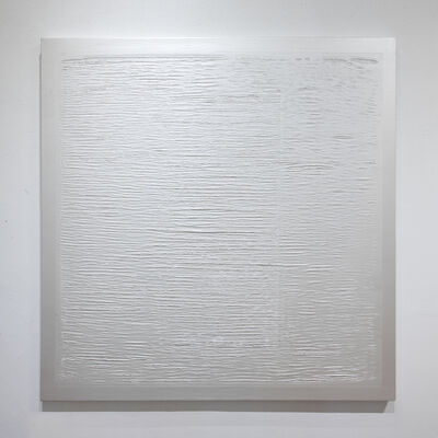 Quisqueya Henríquez, 'Ripped Painting 7 (Pearl)', 2020