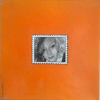 Katerina Dimitriadou, 'Hollywood Stamp.'