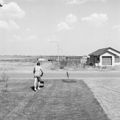 David Goldblatt, 'Saturday afternoon in Sunward Park', 1979