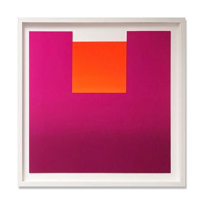 Rupprecht Geiger, 'Red on Violet (No. 6 from all die roten farben…)', 1981