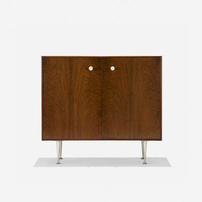 George Nelson & Associates, 'Thin Edge cabinet, model 5201', 1955