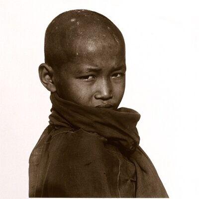 Tim Hall, 'Novice monk, Myanmar'