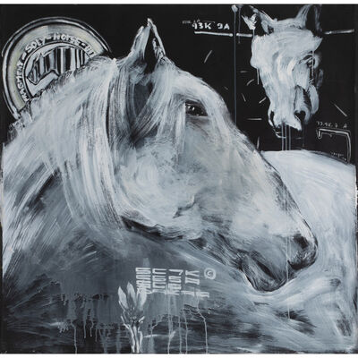 Soly Cissé, 'Untitled (Horse B)', 2007