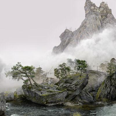Yang Yongliang 杨泳梁, 'Falcon', 2021