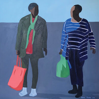 Shakes Tembani, '2 Ladies', 2019