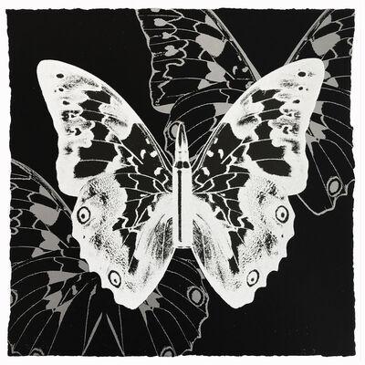 Rubem Robierb, 'Metamorphosis - White on Black', 2018