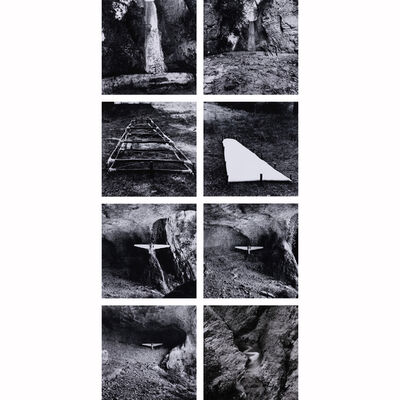 Dieter Appelt, 'Canyon à Oppedette, pour Marguerite Duras', 1980