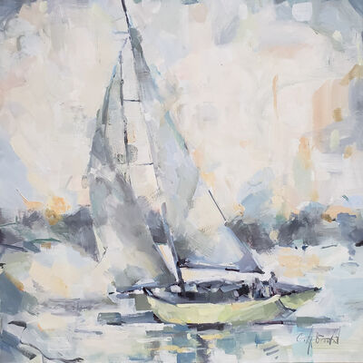 Gina Brown, 'Sailing', 2019